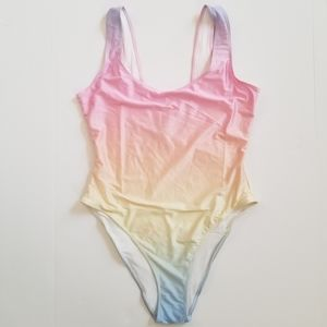 Forever 21+ one piece plus size Swimsuit